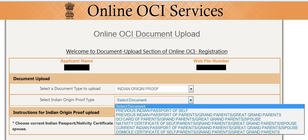 India Visa Information Uk Overseas Citizens Of India Oci